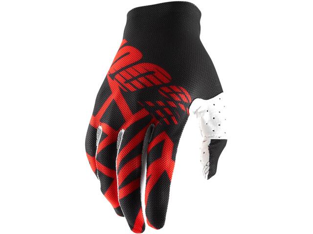 100% Celium 2 Gloves black/red/white